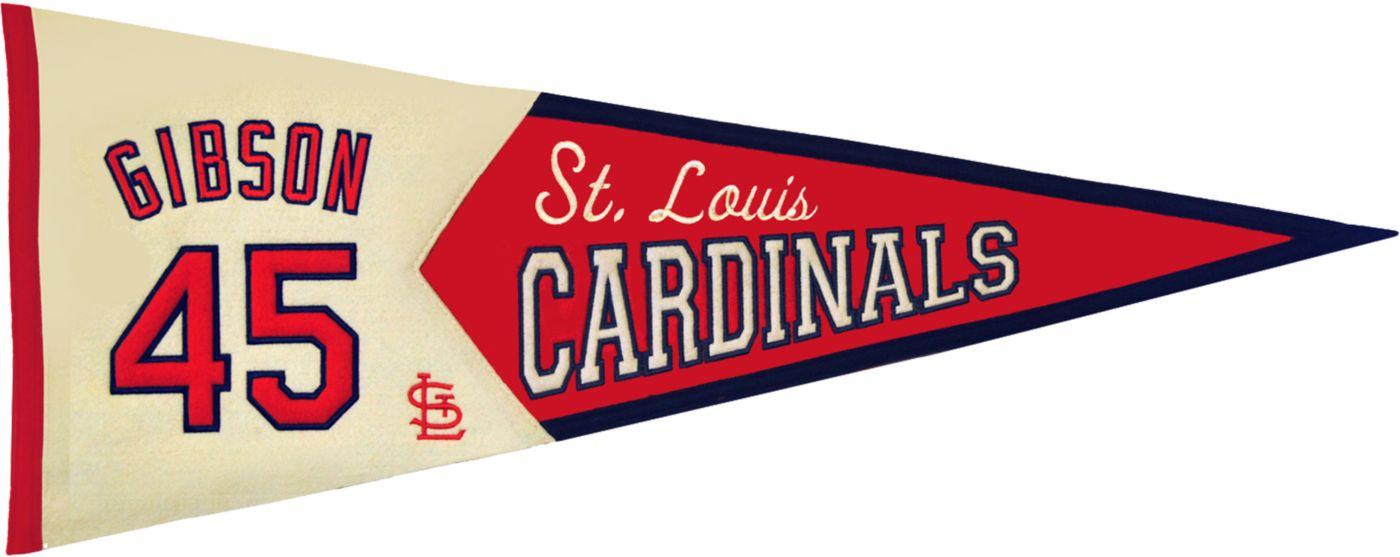 St. Louis Cardinals Bob Gibson Legends Pennant
