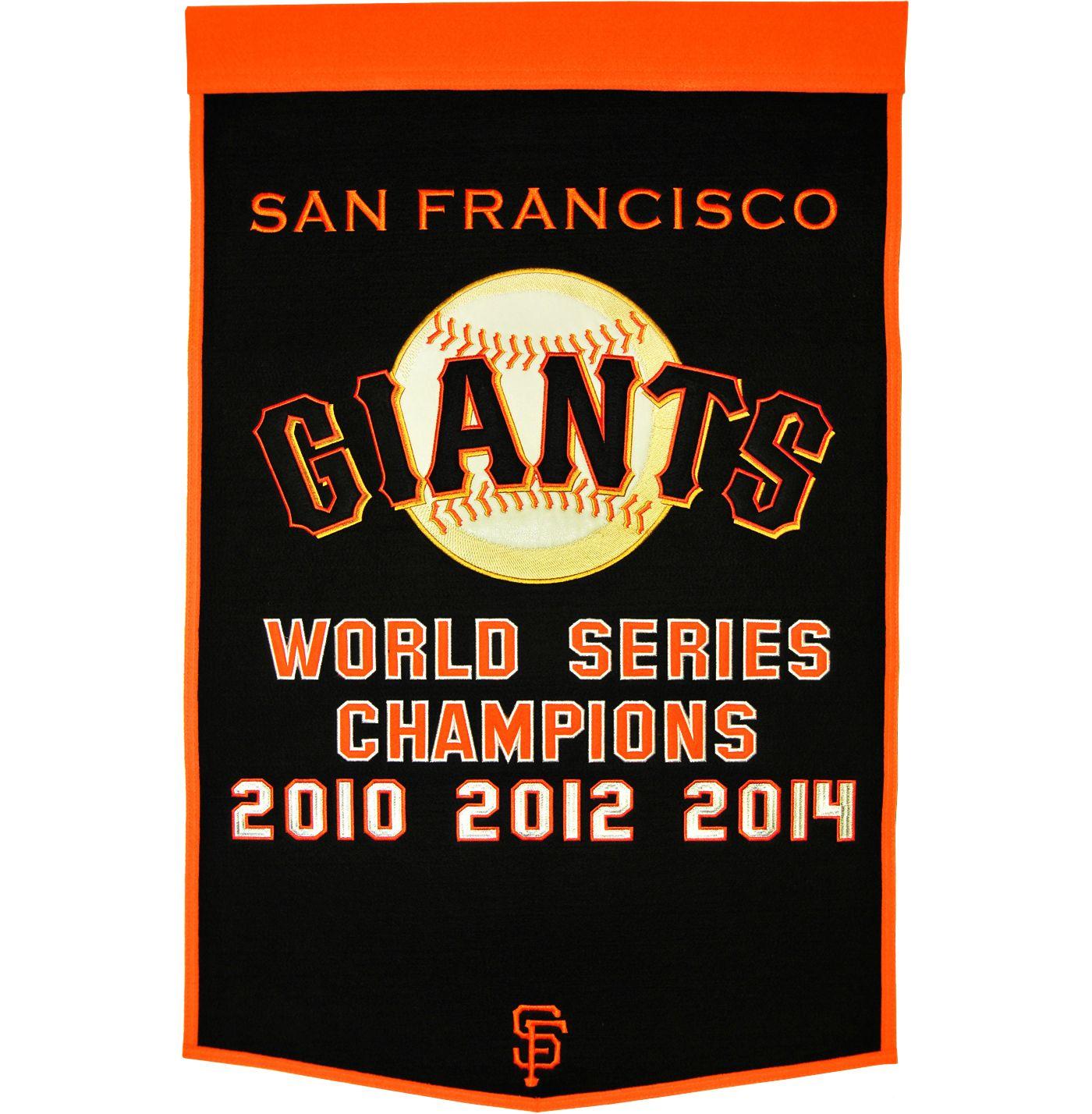 San Francisco Giants Dynasty Banner