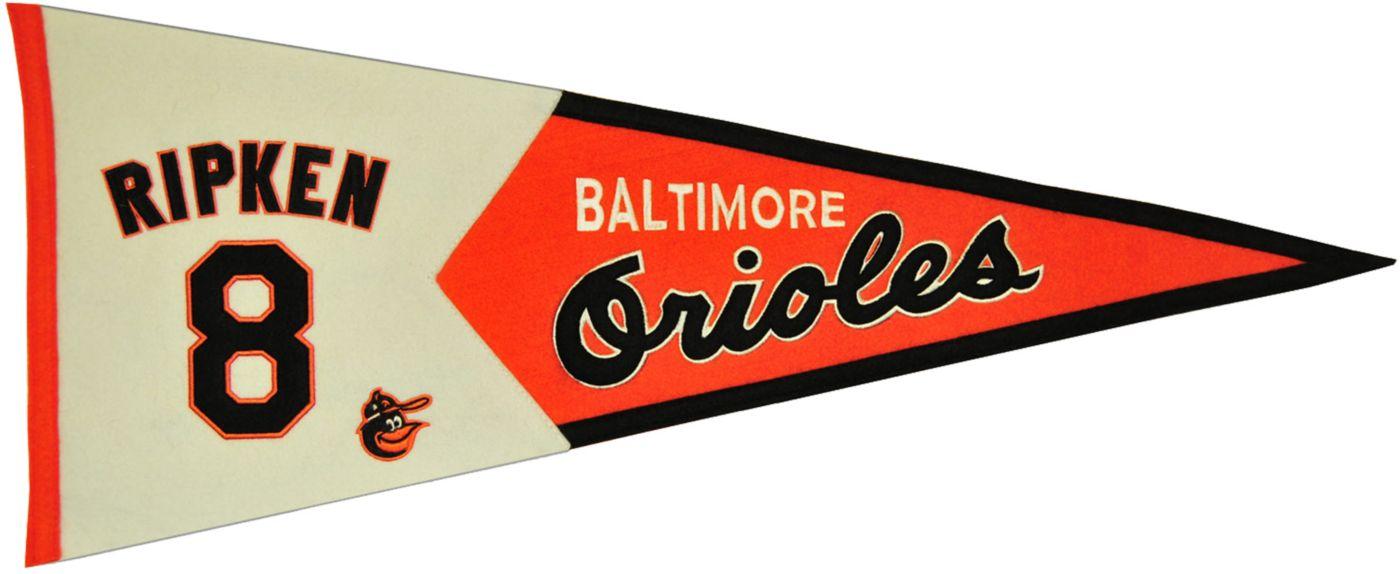 Baltimore Orioles Cal Ripken Jr. Legends Pennant