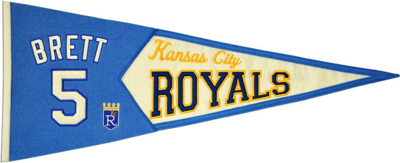 Kansas City Royals George Brett Legends Pennant