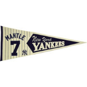 New York Yankees Mickey Mantle Legends Pennant