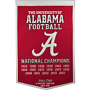 Winning Streak 2017 National Champions Alabama Crimson Tide Dynasty Banner