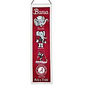 Winning Streak Alabama Crimson Tide Heritage Banner
