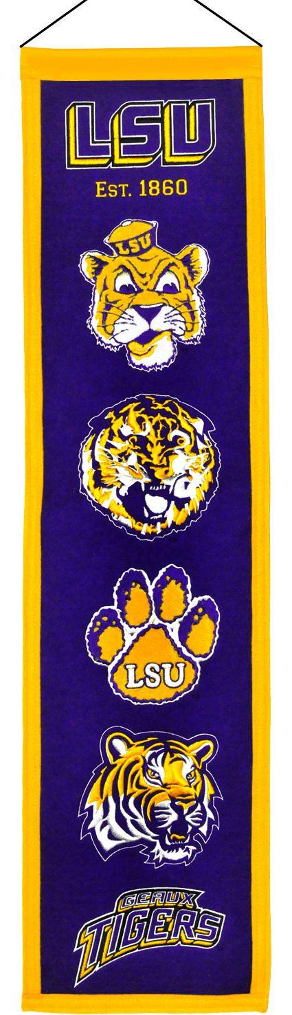 Winning Streak LSU Tigers Heritage Banner