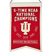 Winning Streak Indiana Hoosiers 5 Time Champions Banner