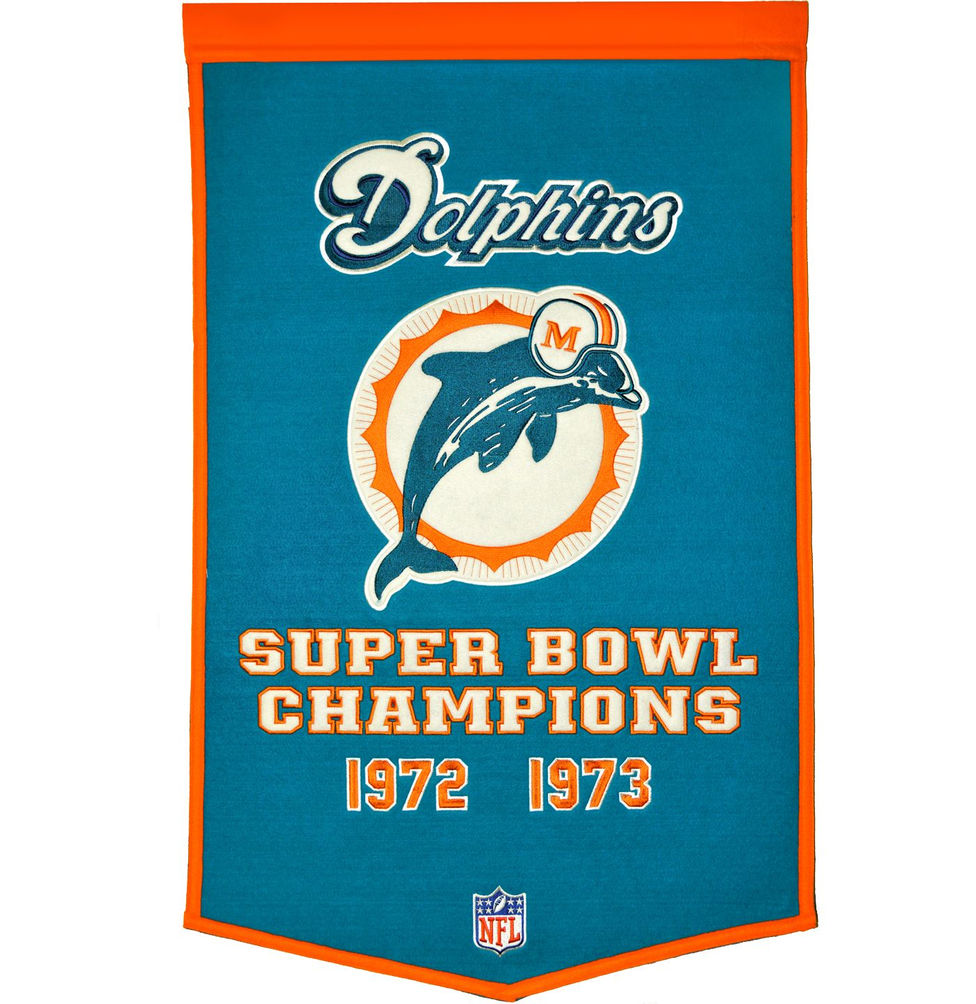 Miami Dolphins Dynasty Banner