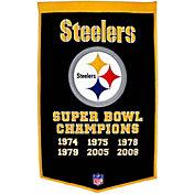 Winning Streak Pittsburgh Steelers Dynasty Banner