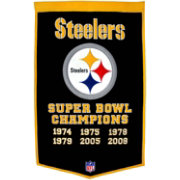 Winning Streak Pittsburgh Steelers Dynasty Banner