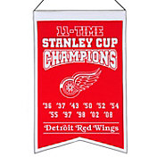 Winning Streak Detroit Red Wings 11 Time Champions Banner