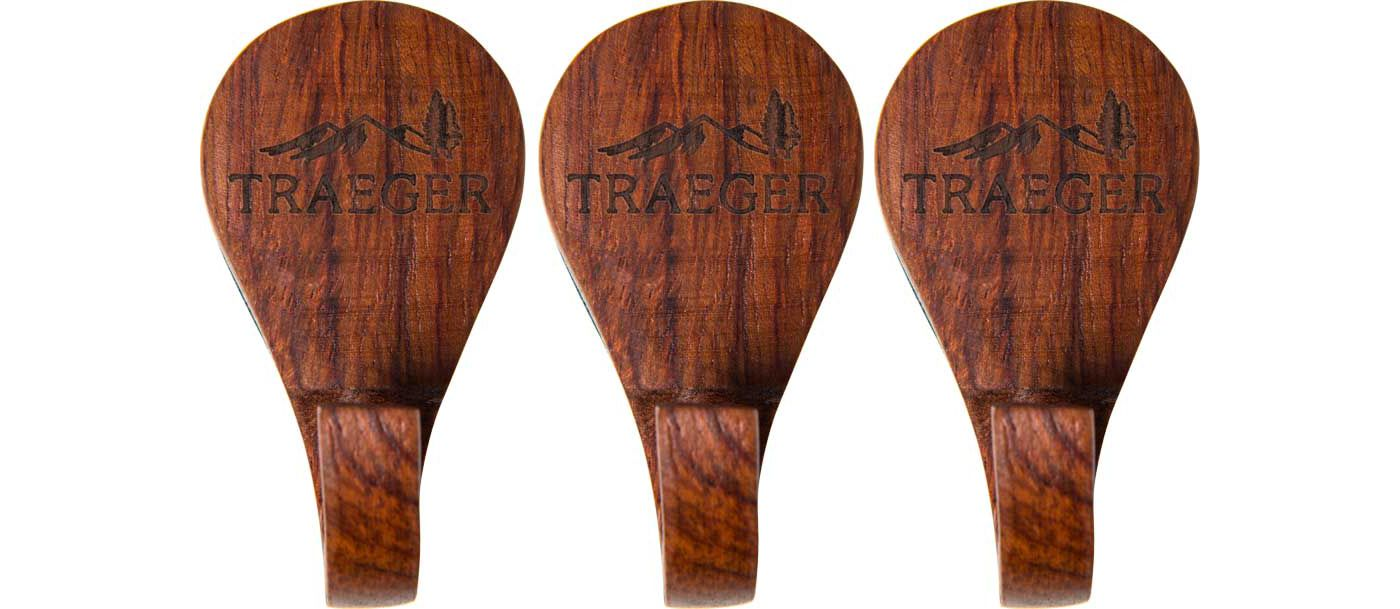 Traeger 3-Piece Magnetic Wooden Hooks