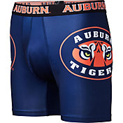 Fandemics Men's Auburn Tigers Black Boxer Brief Style Base Layer