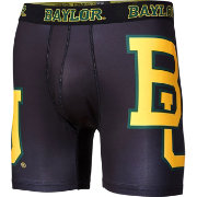 Fandemics Men's Baylor Bears Black Boxer Brief Style Base Layer