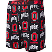 Fandemics Men's Ohio State Buckeyes All Over Print Black Boxers