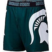 Fandemics Men's Michigan State Spartans Green Center Seam Base Layer Boxers