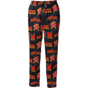 Fandemics Men's Maryland Terrapins Black All Over Print Pajama Pants