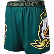 Fandemics Men's Oregon Ducks Green Center Seam Base Layer Boxers