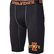 Fandemics Men's Iowa State Cyclones BaseFit Black Compression Shorts