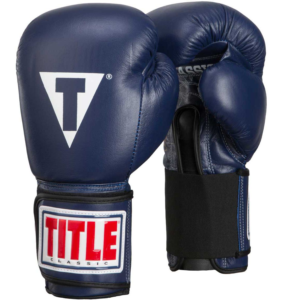 14cff800a61 TITLE Boxing Classic Leather Elastic Training Gloves | DICK'S ...