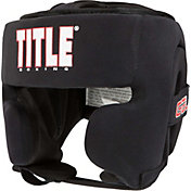 TITLE Boxing Gel Washable Training Headgear