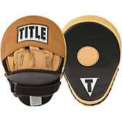 TITLE Boxing Genuine Leather Super Punch Mitts