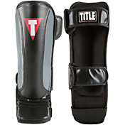 TITLE Boxing MMA Super Sleek Stand-Up Shin Guards