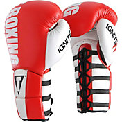 TITLE Boxing Infused Foam Ignite Power Lace Training Gloves