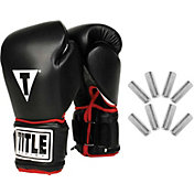 TITLE Boxing Power Weighted Super Bag Gloves