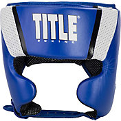 TITLE Boxing Aerovent Elite Amateur Competition Headgear