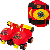 Blaze and the Monster Machines Boys' Roller Skates and Knee Pads