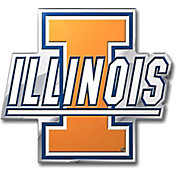 Team Promark Illinois Fighting Illini Color Auto Emblem
