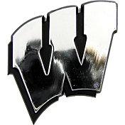 Team Promark Wisconsin Badgers Chrome Auto Emblem