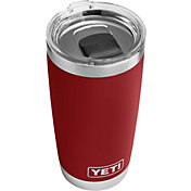 YETI 20 oz. Rambler Tumbler with MagSlider Lid in Brick Red