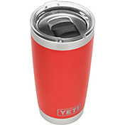 YETI 20 oz. Rambler Tumbler with MagSlider Lid in Canyon Red