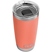 YETI 20 oz. Rambler Tumbler with MagSlider Lid in Coral