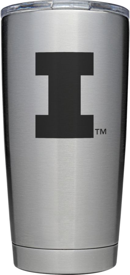 YETI Illinois Fighting Illini 20 oz. Rambler Tumbler with MagSlider Lid