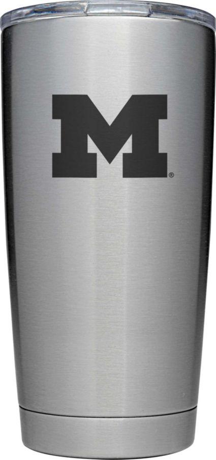YETI Michigan Wolverines 20 oz. Rambler Tumbler with MagSlider Lid