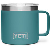 YETI 14 oz. Rambler Mug in River Green