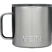 YETI 14 oz. Rambler Mug in Stainless Steel