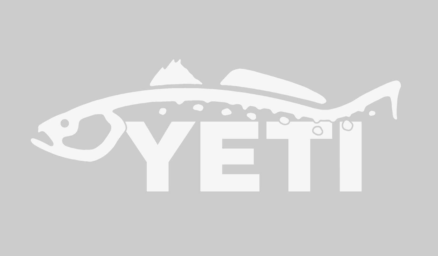 Yeti Trout Window Decal Dicks Sporting Goods Salty Kanye Ohstick Antigravity Sticker Noimagefound