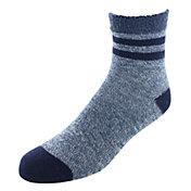 Yaktrax Men's Cozy Stripe Cabin Socks
