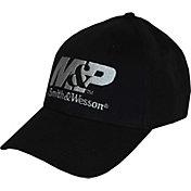 M&P Men's Black Structured Logo Hat