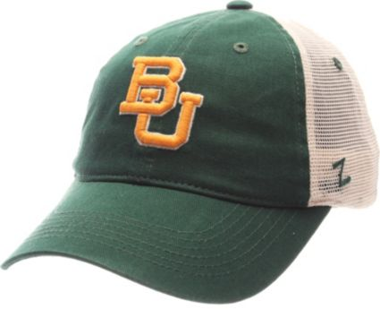 Zephyr Men's Baylor Bears Green/White University Adjustable Hat