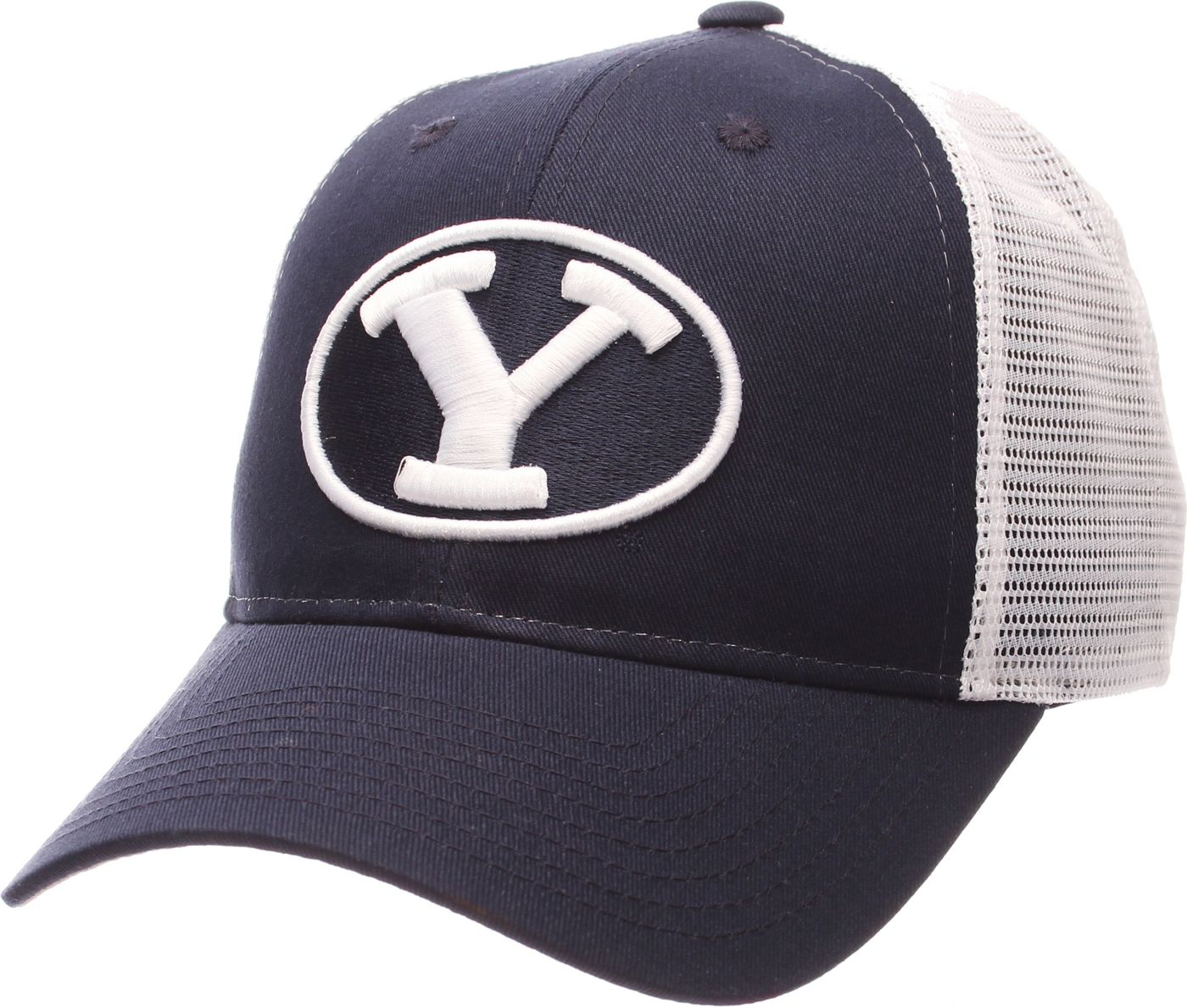 Zephyr Men's BYU Cougars Blue/White Big Rig Adjustable Hat