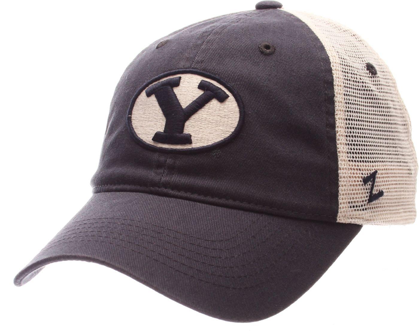 Zephyr Men's BYU Cougars Blue/White University Adjustable Hat
