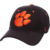 Zephyr Men's Clemson Tigers Black Element ZClassic Flexfit Hat