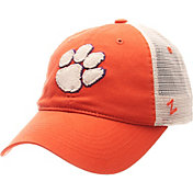 Zephyr Men's Clemson Tigers Orange/White University Adjustable Hat