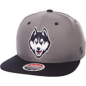 Zephyr Men's UConn Huskies Grey/Blue Z-Wool Z11 Snapback Hat