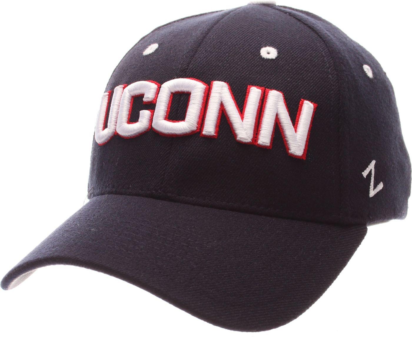 Zephyr Men's UConn Huskies Blue ZH ZClassic Flexfit Hat