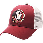 d270ce1b256 Product Image · Zephyr Men s Florida State Seminoles Garnet White Big Rig  Adjustable Hat