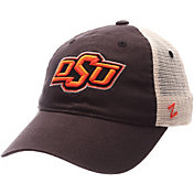 Zephyr Men's Oklahoma State Cowboys Grey/White University Adjustable Hat